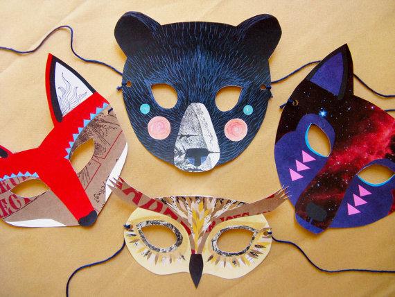 Изготовление маска своими руками